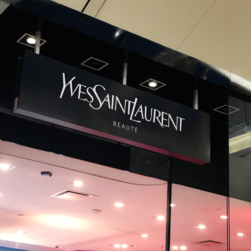 YSL Beauty Pop Up now Open at Square One Shopping Centre