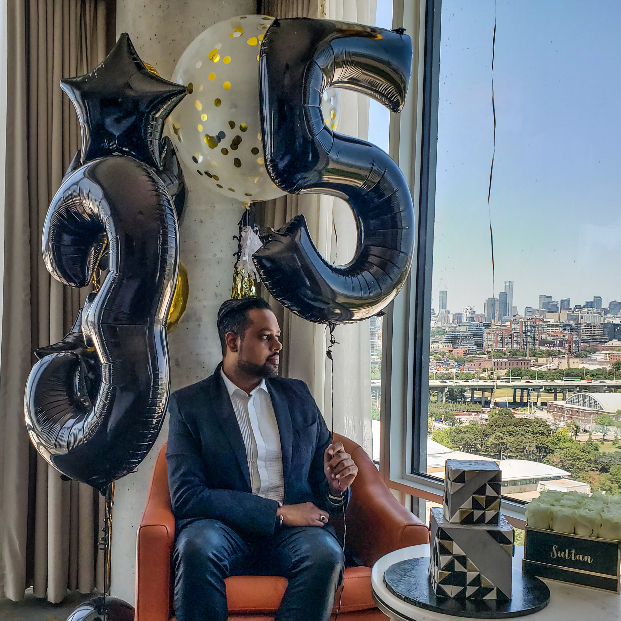 Just Sultan Hotel X Birthday Celebration Balloon Bar Toronto 35