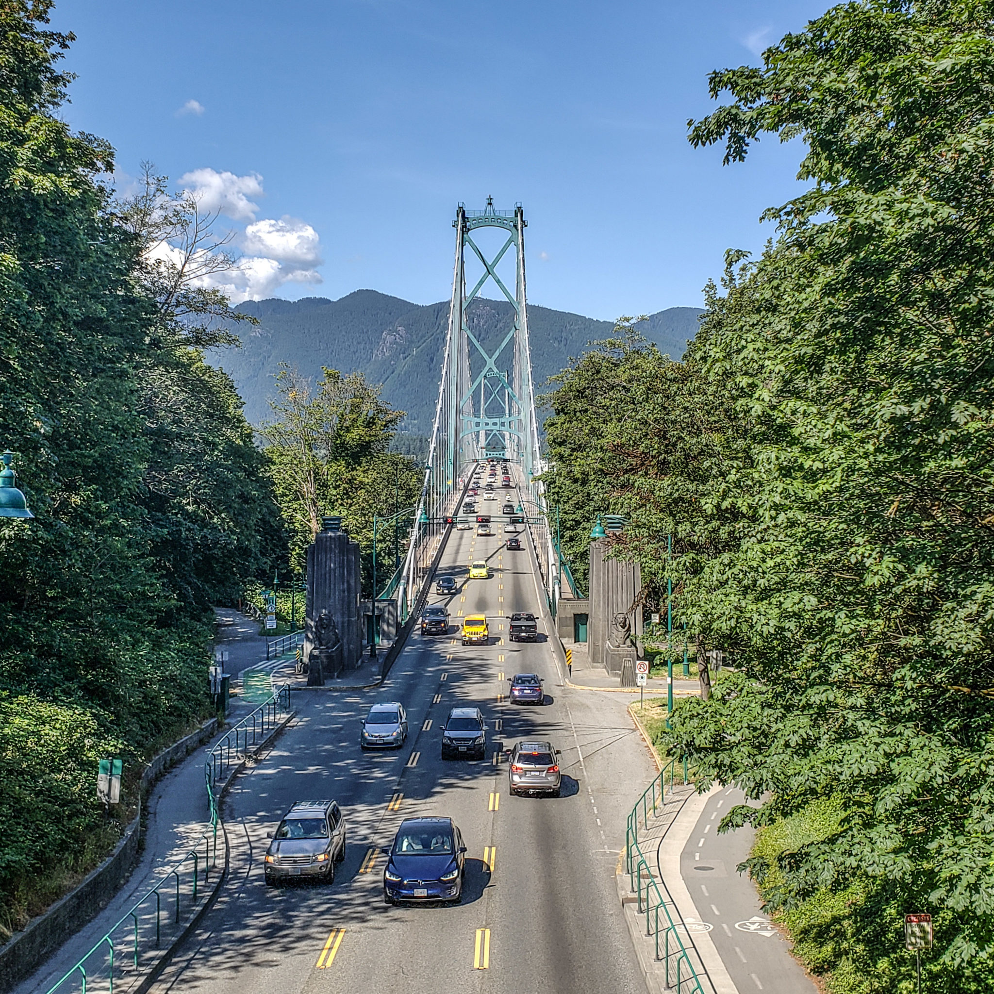 Vancouver - Canada - British Columbia - Bridge - View