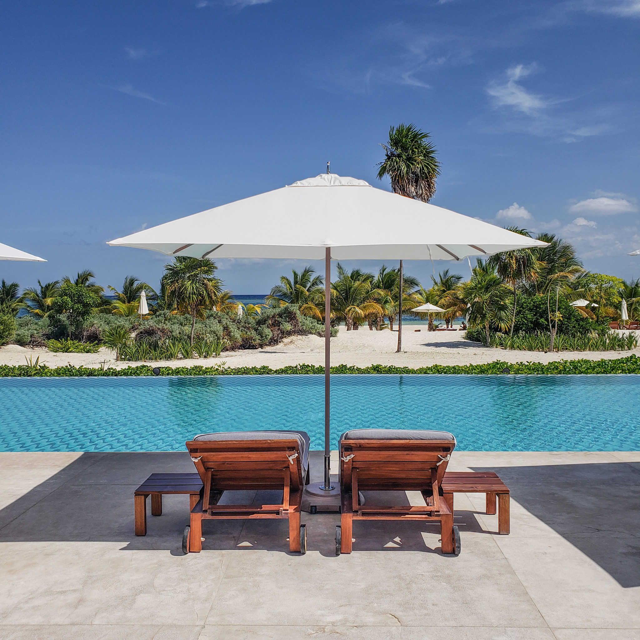 Chable Maroma Resort - Quintana Roo - Playa Del Carmen - Playa Maroma - Pool View