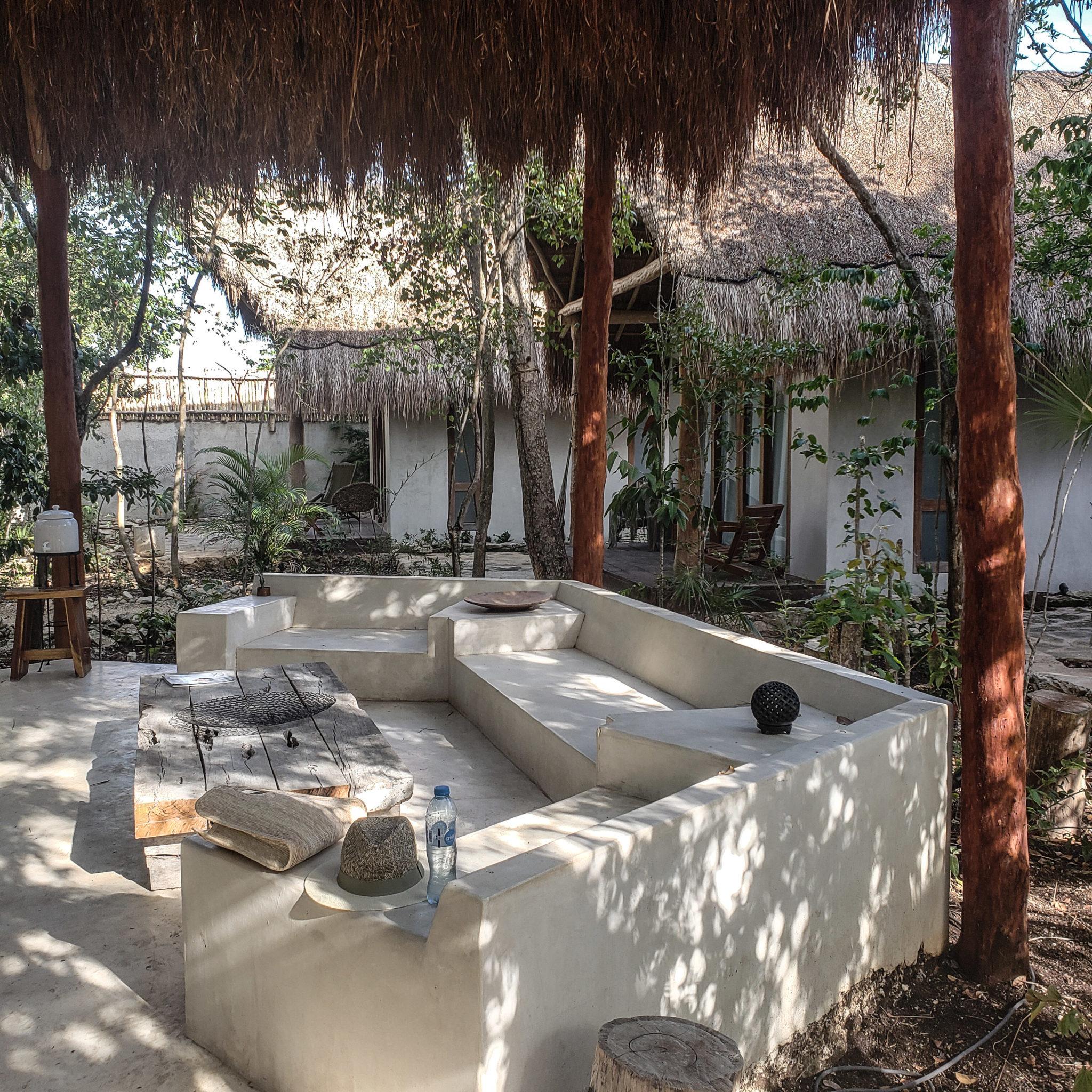 Acacia Jungle Bungalows Tulum - Outdoor Lounge
