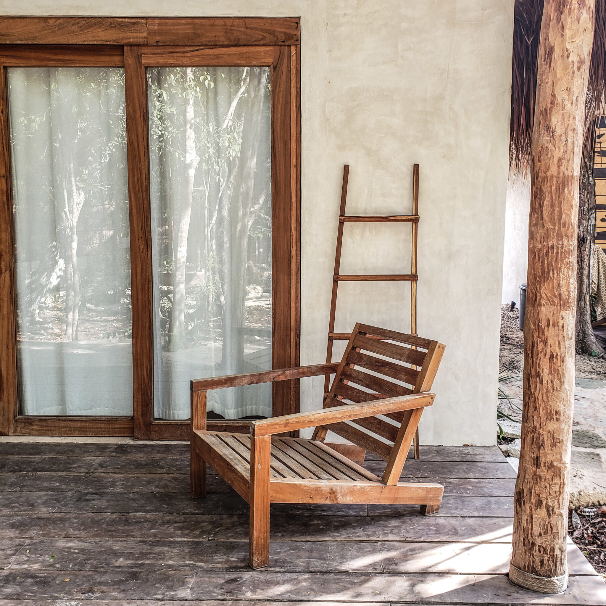 Acacia Jungle Bungalows Tulum - Exterior Sitting Area
